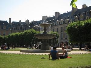 Plaza de los Vosgos